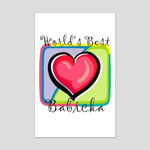 WB Grandma [Slovak] Mini Poster Print